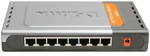 Свитч D-Link DES-1008D 8-port 10/100Mbps