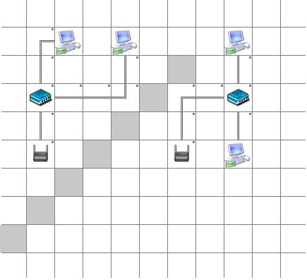 Схемы беспроводной локальной сети