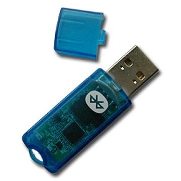 Bluetooth приемо-передатчик похож на обычную флешку
